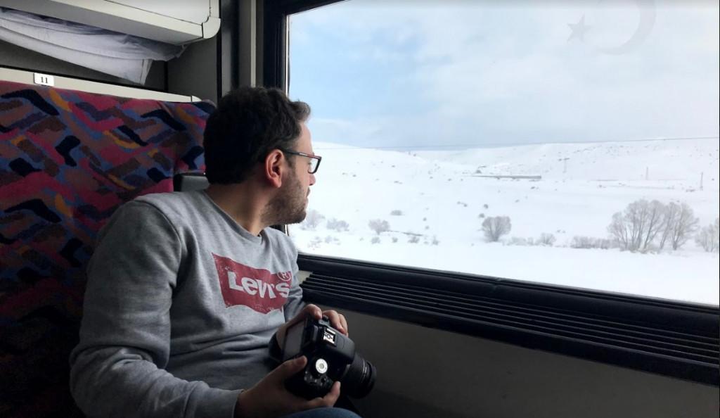 رحلة شتاء مجنونة في تركيا - قطار doğu ekspresi