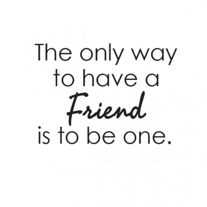 عندما أكون صديقًا ولا أملك أصدقاء!