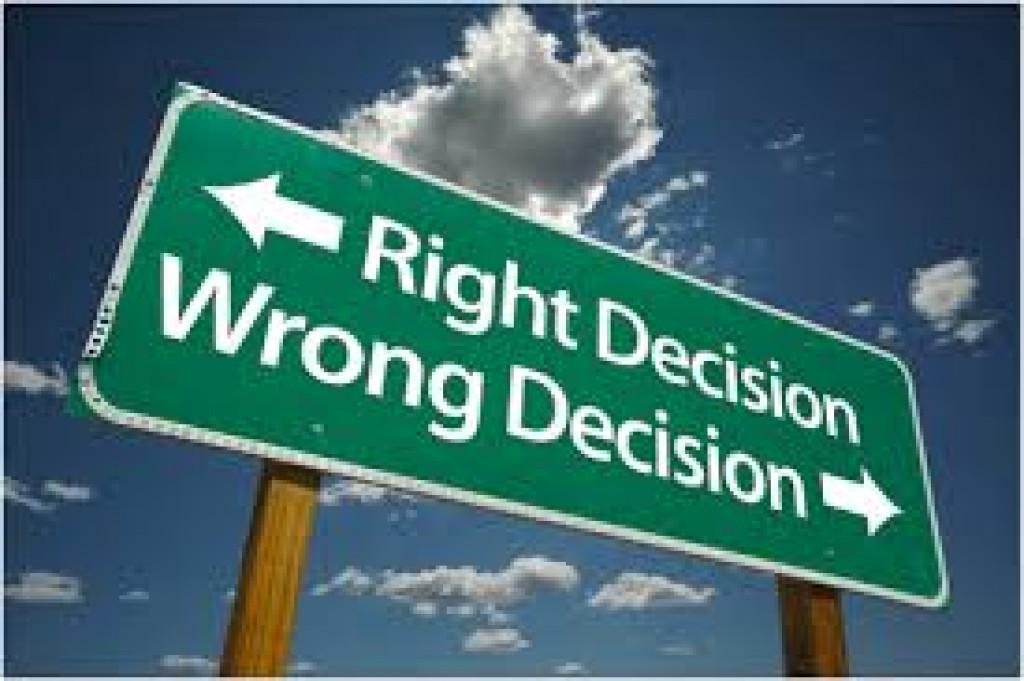 القرار الحاسم