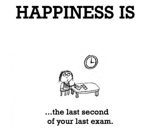 يقال أننا أنهينا الامتحانات!