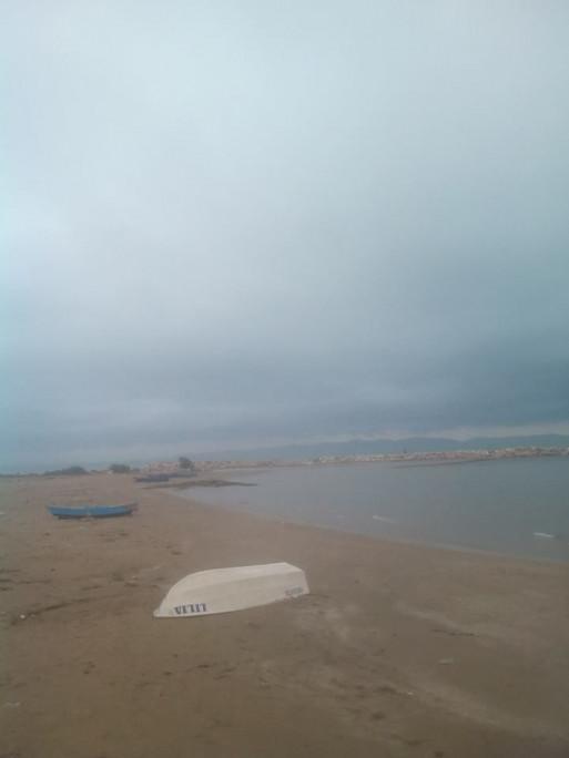 عشوية على شاطئ حلق الوادي