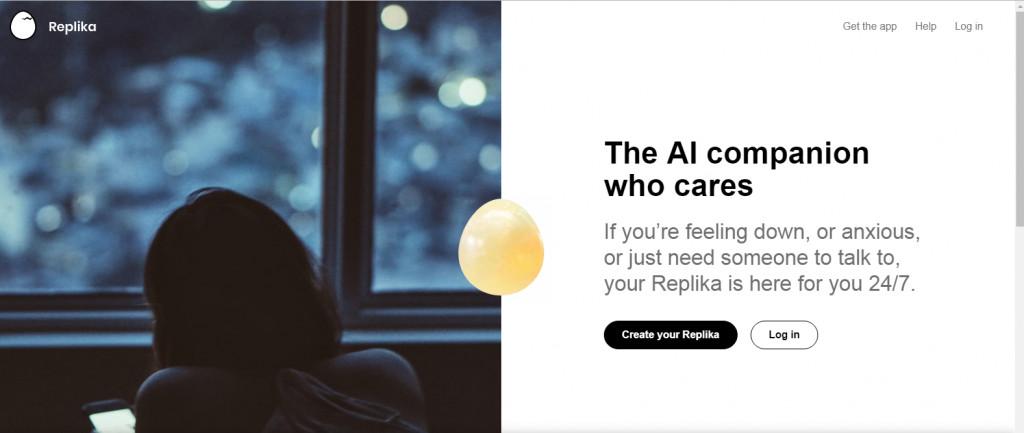ريبليكا :روبوت دردشة مبني على الذكاء الإصطناعي لتقديم الدعم النفسي