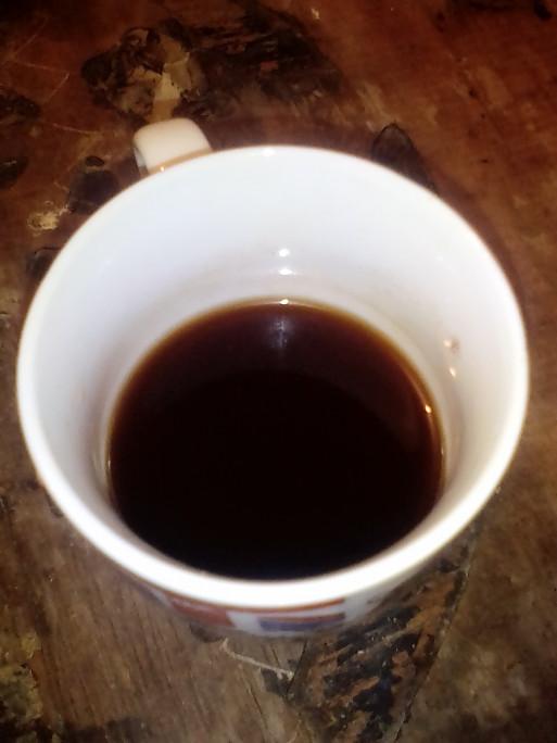 قهوة بأعواد القرفة...طبخت الطعام الذي كنت أفكر فيه منذ الظهيرة