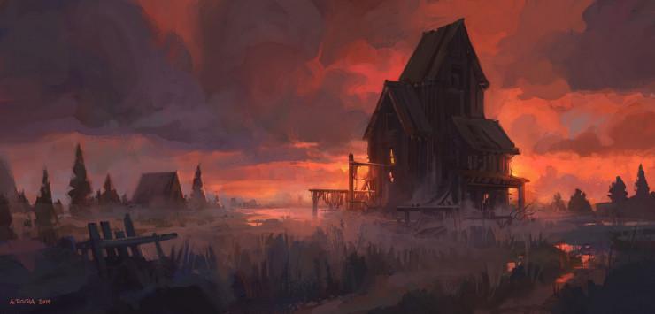 أرض ملعونة
