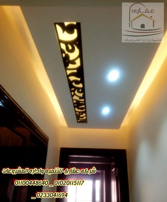تصميم هندسي ديكورات _ ديكورات ( شركة عقارى 01100448640 _ 01020115117 )