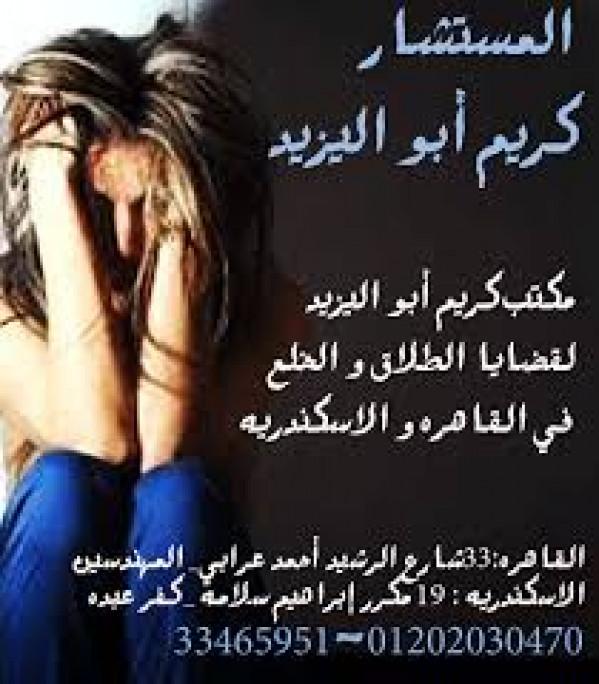 محامي اسرة المهندسين(كريم ابو اليزيد)01202030470