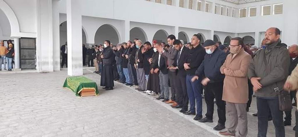 حضرت جنازة أم سيف الدين مخلوف...