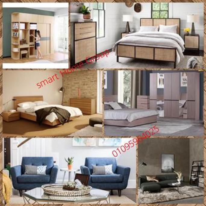 افضل سعر غرف نوم ( سمارت هوم جروب 01095964025)